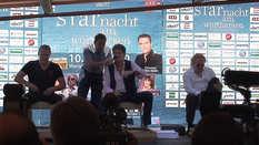 David Hasselhoff, Johnny Logan und Umberto Tozzi