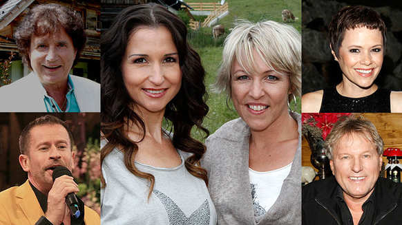 Fernsehgarten, Olaf der Flipper, Anita & Alexandra Hofmann, Francine Jordi, Leonard, Bernhard Brink